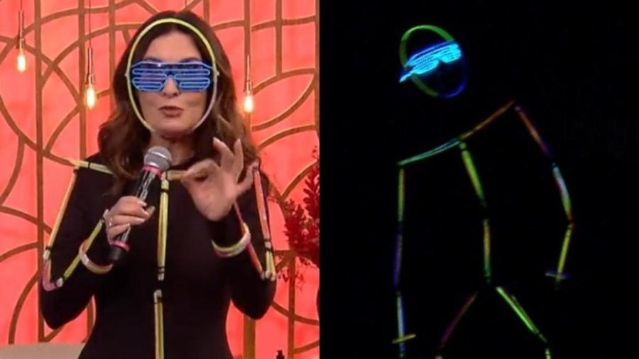 """Fátima Bernardes no """"Encontro"""" - Reprodução / TV Globo"""