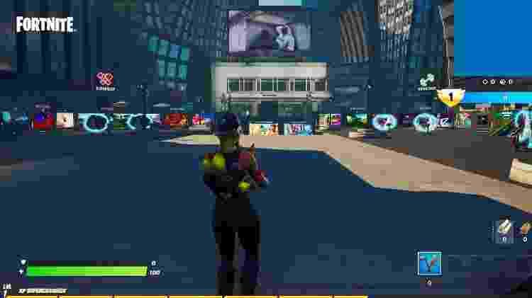 Fortnite -  Central Tempos Estranhos - Divulgação/Epic Games - Divulgação/Epic Games