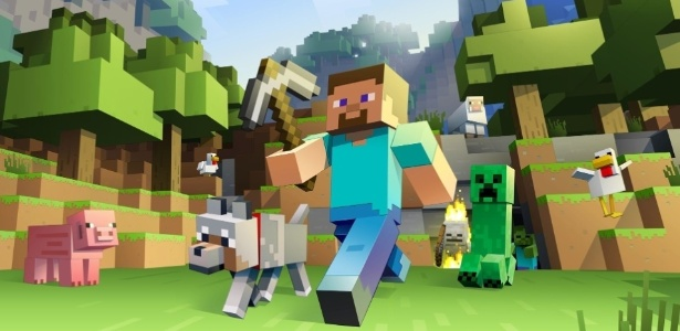 """Um dos jogos mais populares de todos os tempos, """"Minecraft"""" serviu para criar várias construções impressionantes - Divulgação"""