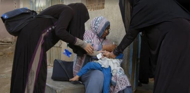 """O combate à poliomielite é um temas da quarta temporada da """"Vice"""" - Reprodução/Vice"""