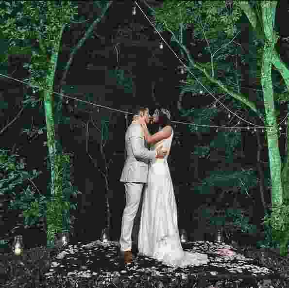 22.mai.2016 - José Loreto e Débora Nascimento se casam no Rio de Janeiro em cerimônia com a presença de amigos famosos - Reprodução/Instagram