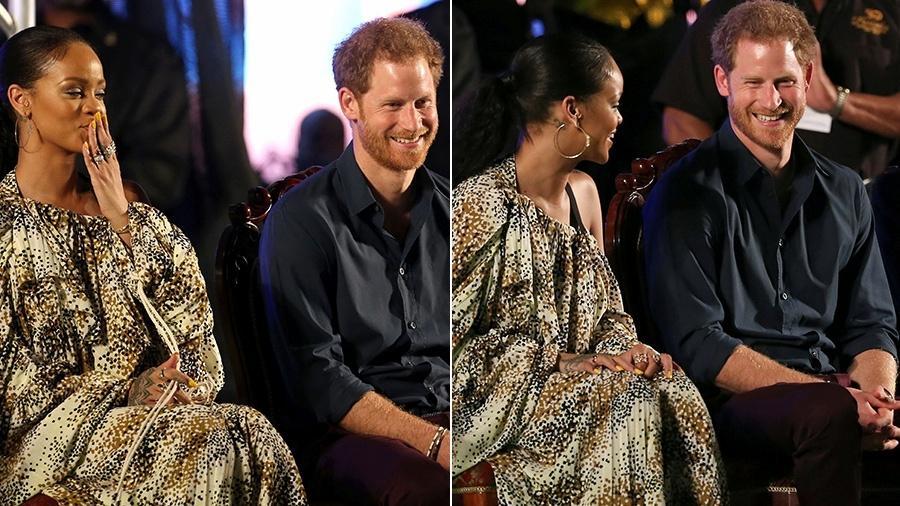 Príncipe Harry se encontra com Rihanna em Barbados - Adrees Latif/Reuters