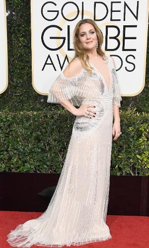 Globo de Ouro 2017: Drew Barrymore