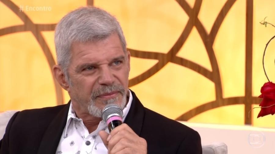 """Raul Gazolla no """"Encontro com Fátima Bernardes"""" - Reprodução/TV Globo"""