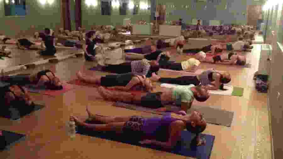 Divulgação/Ghara Hot Yoga
