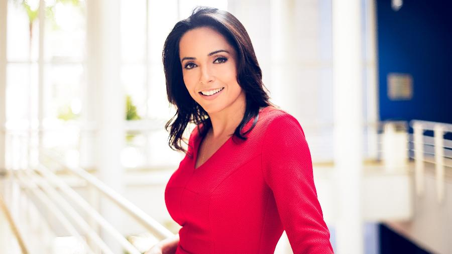 A jornalista Izabella Camargo - Ramon Vasconcelos/TV Globo