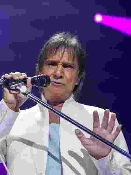 Roberto Carlos se apresenta no Espaço das Américas, em São Paulo - Amanda Perobelli/UOL
