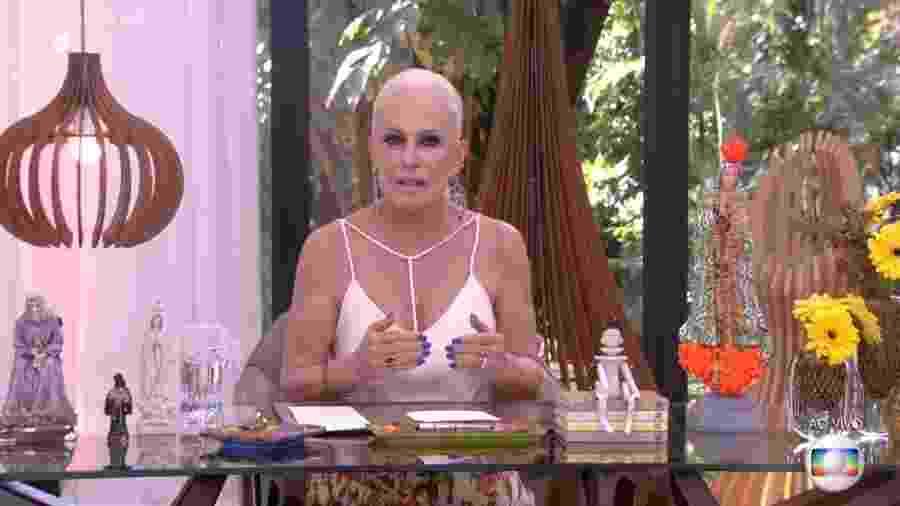 Ana Maria Braga se revolta contra matança de macacos e faz protesto na TV - Reprodução/Globo