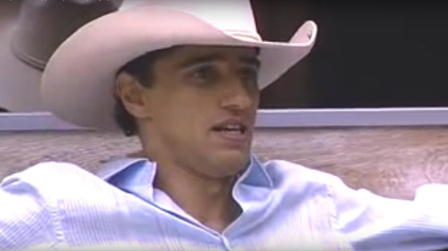 """Alberto Cowboy no """"BBB7"""" - Reprodução / TV Globo"""