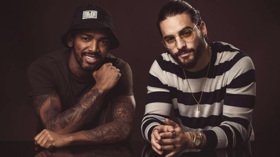 """Nego do Borel e o colombiano Maluma, parceiros na música """"Corazón"""" - Felipe Cuevas Photo"""