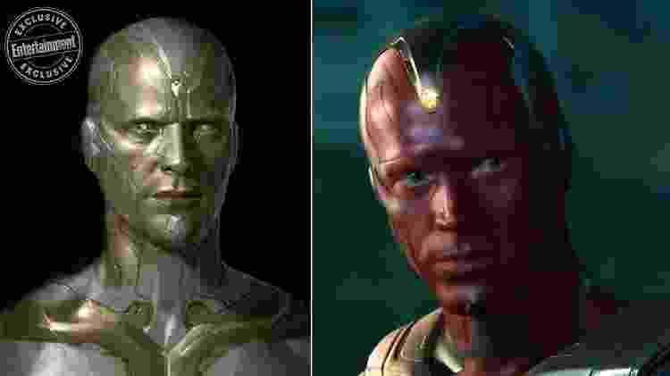 O personagem Visão, de Os Vingadores, em arte feita por Ryan Meinerding - Reprodução/Ryan Meinerding - Reprodução/Ryan Meinerding