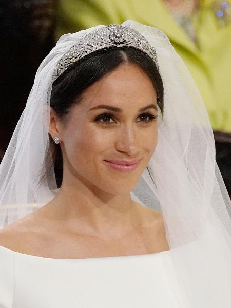 Meghan em seu casamento com Harry - Jonathan Brady/Reuters