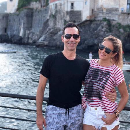 Cesar Tralli e Ticiane Pinheiro curtem férias na Itália - Reprodução/Instagram/ticipinheiro