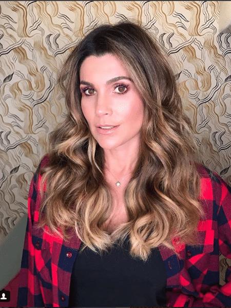 Flávia Alessandra de novo visual para próxima novela das 9 - Reprodução/Instagram