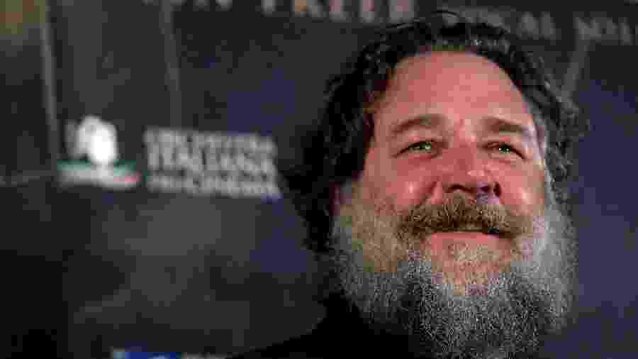 O ator Russell Crowe - TIZIANA FABI/AFP