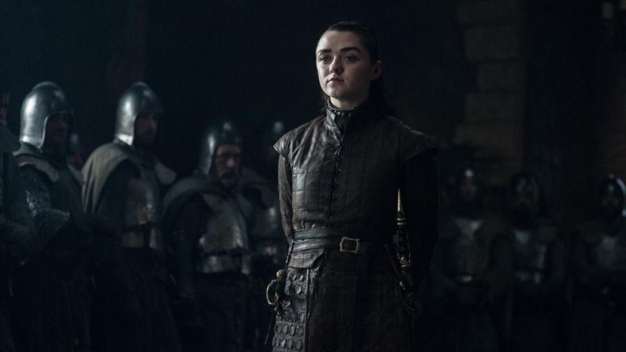 """Maisie Williams como Arya em """"Game of Thrones"""" - Divulgação/HBO"""