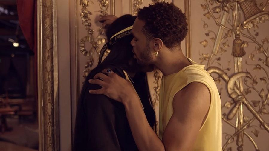 """Ludmilla e Maejor em cena do clipe de """"Meu Baile"""", do produtor Papatinho - Reprodução/YouTube"""