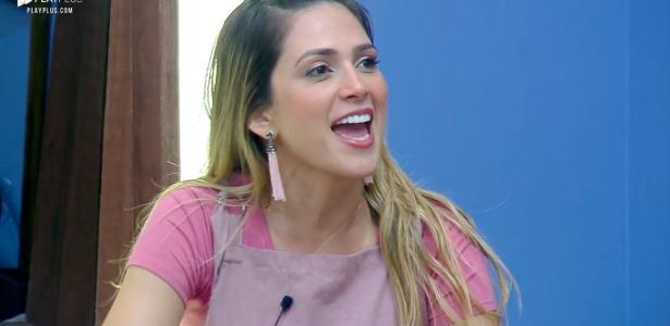 Nadja Pessoa critica a ex-paquita Catia Paganote