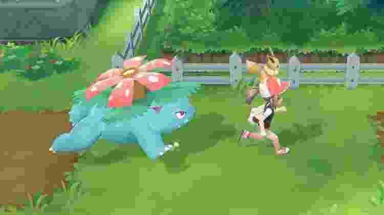 O Venossaur é um dos melhores Pokémons do tipo grama - Reprodução