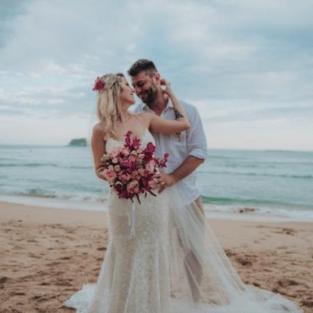 Leo Bianchi e Bruna Sinhorini se casam no litoral de São Paulo - Reprodução/Instagram