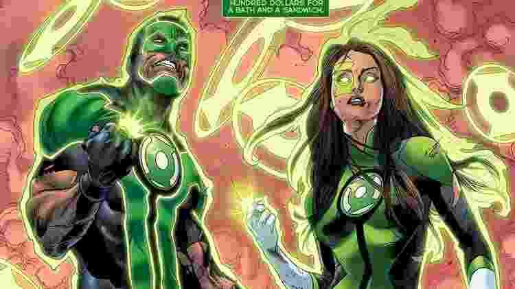 Lanterna Verde ilustrado pelo brasileiro Robson Rocha para a DC Comics - Reprodução - Reprodução