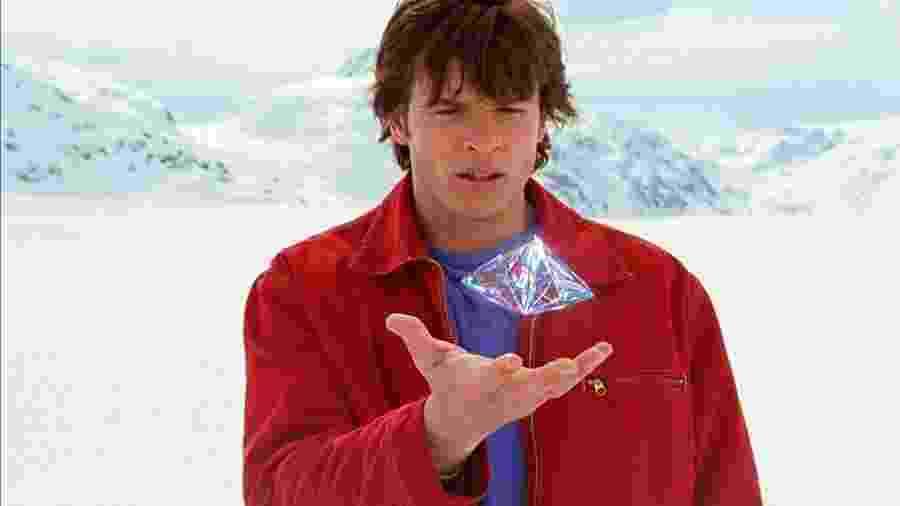 Tom Welling em Smallville - Divulgação