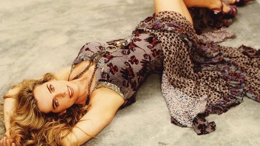 Bruna Lombardi posta clique sexy no Instagram - Reprodução/Instagram