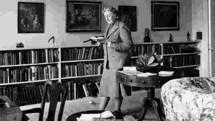 A escritora Agatha Christie - AFP/Getty