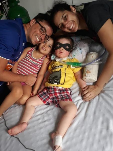 O bebê Guilherme nasceu com doença genética que afeta o sistema nervoso - Arquivo Pessoal