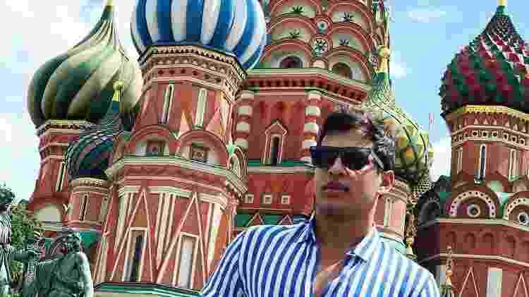 Lucas viajou para a Rússia - Reprodução/Instagram - Reprodução/Instagram