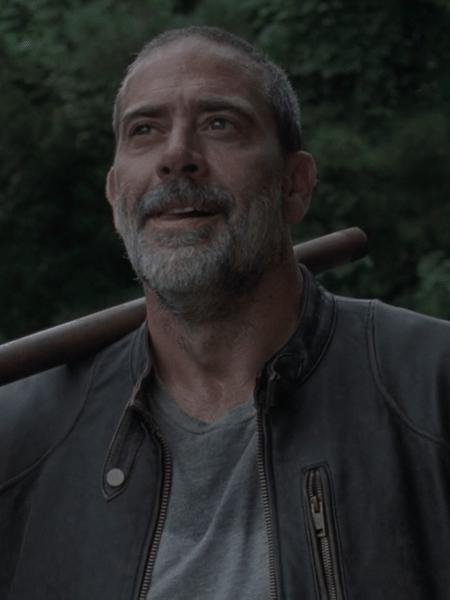 """Negan (Jeffrey Dean Morgan) em cena da nona temporada de """"The Walking Dead"""" - Reprodução"""