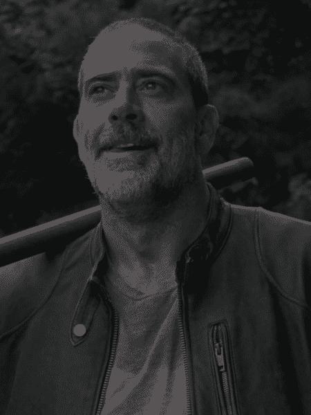 """Negan (Jeffrey Dean Morgan) em cena da nona temporada de """"The Walking Dead"""" - Reprodução - Reprodução"""