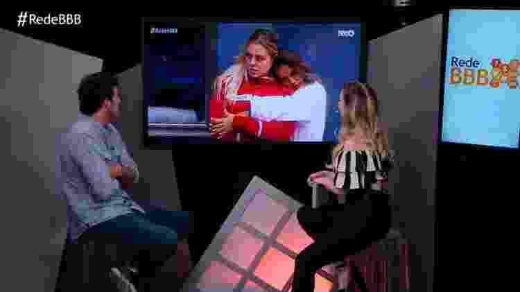 Entrevista Maycon - Reprodução/GloboPlay - Reprodução/GloboPlay