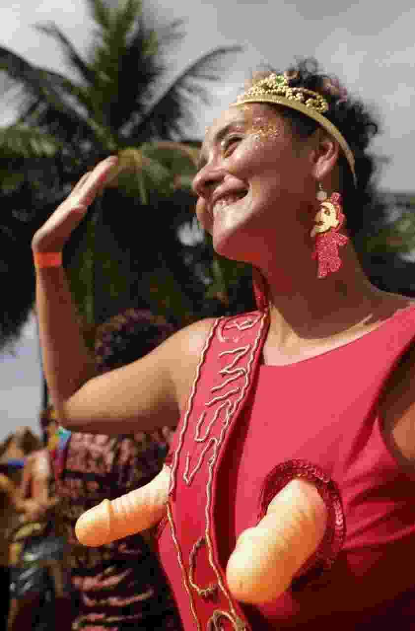 Bloco Virtual animou foliões nesta segunda-feira (4) no Rio de Janeiro - Luciola Villela/UOL