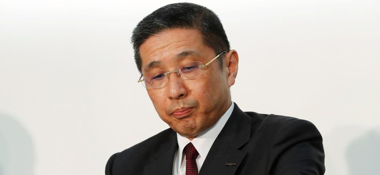 """Hiroto Saikawa, atual CEO da Nissan, trabalhou como diretor representante do conselho durante """"era Ghosn"""" - Kim Kyung-Hoon/Reuters"""