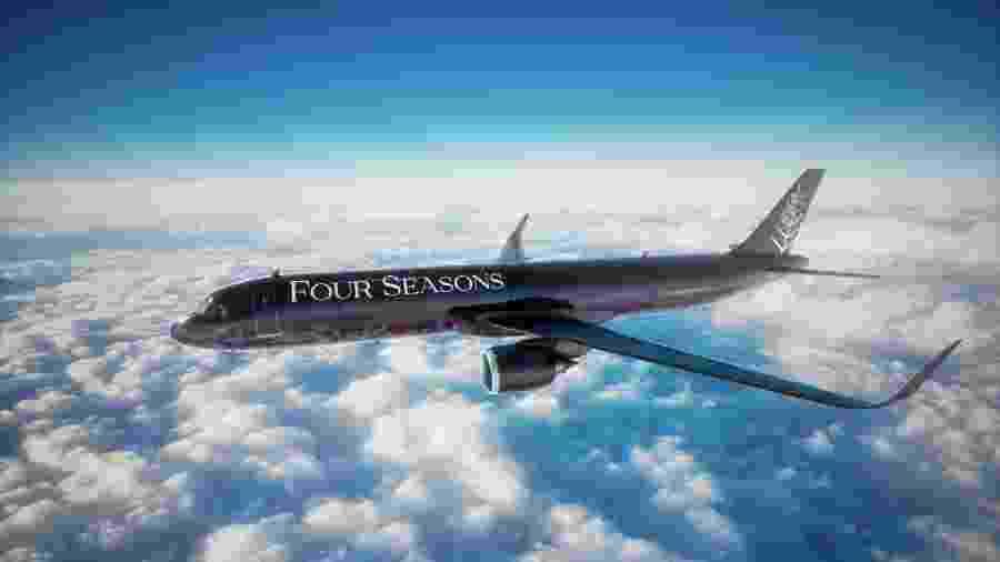 Aeronave A321LR, um dos modelos mais recentes da família NEO, da Airbus - Divulgação