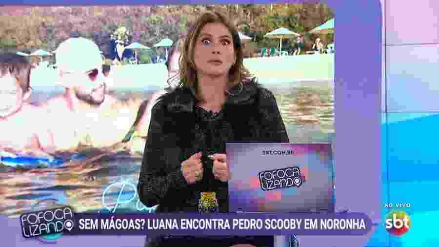 Lívia Andrade no Fofocalizando - Reprodução/SBT
