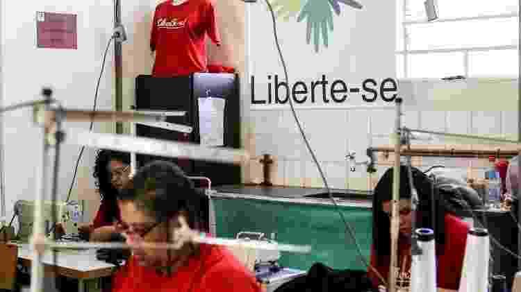 Projeto Libertees funciona em Complexo Penitenciário em Belo Horizonte - Mariela Guimarães/Divulgação