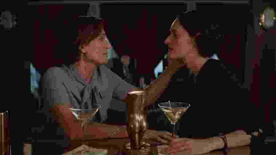 Cena de Fleabag em que a personagem reflete sobre os benefícios da menopausa - Divulgação