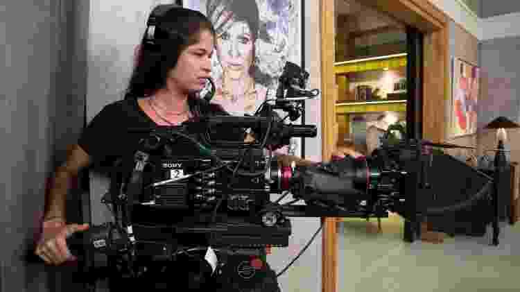 Fernanda Lins é cinegrafista de Salve-se Quem Puder - João Miguel Junior/Globo