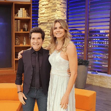 Daniel no programa de Luciana Gimenez - Divulgação Rede TV!