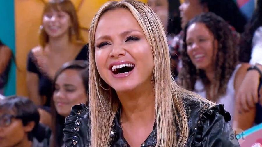 Depois de Ratinho, é a vez de Eliana comentar a Libertadores no SBT - Reprodução