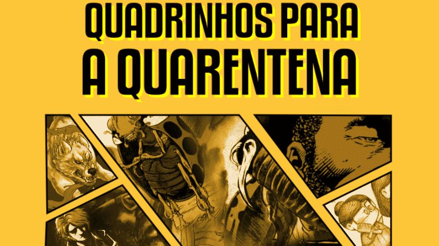 HQs Na Quarentena: campanha disponibiliza HQs gratuitas - Reprodução/CoronaConBR