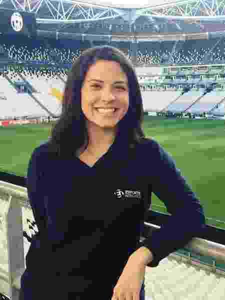 Clara Albuquerque é correspondente do Esporte Interativo/Turner na Itália: vida recomeçando   - Divulgação