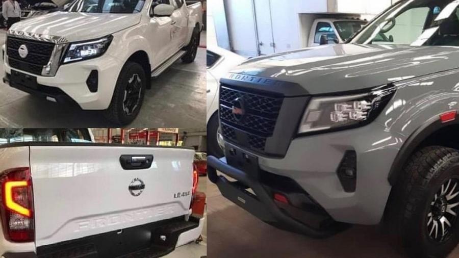 Nissan Frontier 2021 tem imagens vazadas - formacar.com