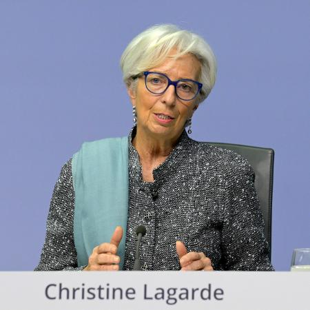 Christine Lagarde, presidente do Banco Central Europeu  - Getty Images