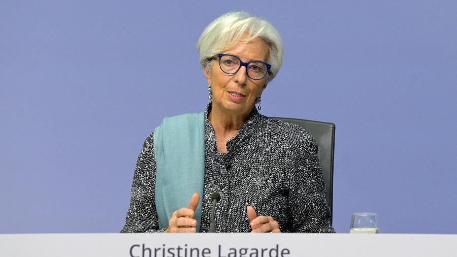 Christine Lagarde, presidente do Banco Central Europeu  - Getty Images