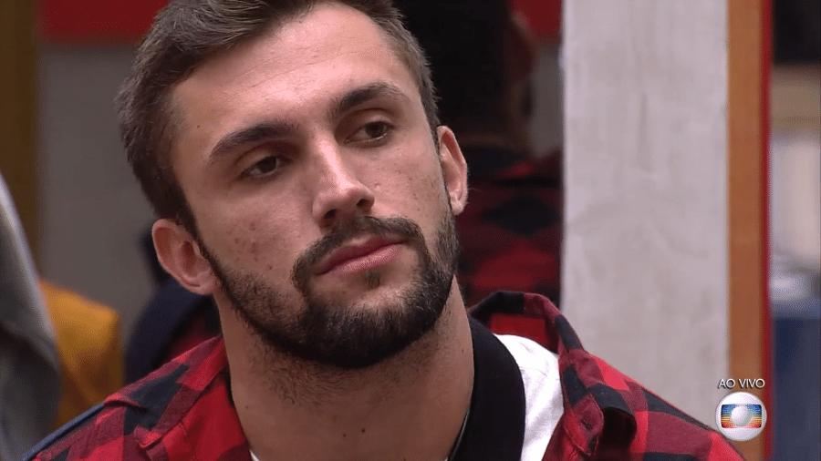 Arthur no BBB 21 - Reprodução/TV Globo