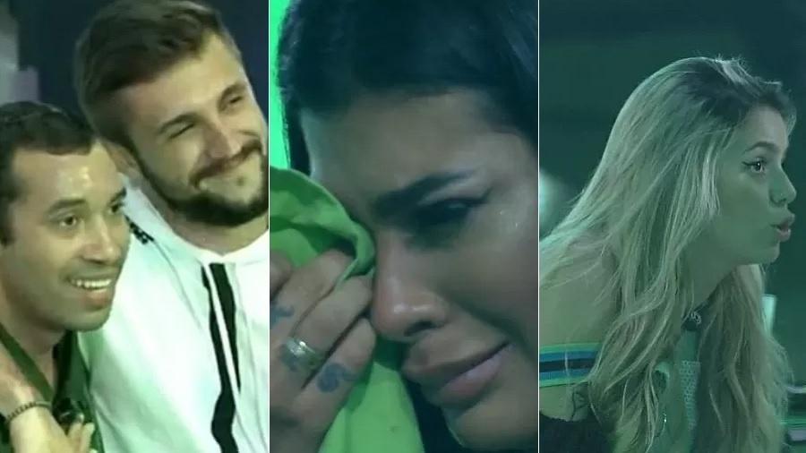 BBB 21: Festa top 10 é marcada por clima de provocação e lágrimas - Reprodução/Globoplay