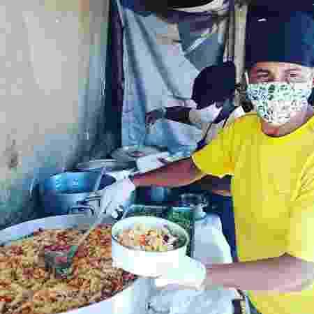 Igor Lana transformou sua cozinha para preparar comidas para a comunidade - Arquivo Pessoal - Arquivo Pessoal